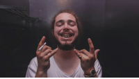 Memes, Post Malone, and That 70s Show: Post Malone looks like he's sitting in the smoke circle from the basement of That '70s Show 😂