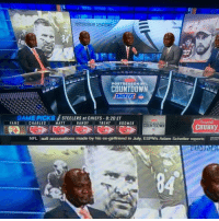 Countdown, Memes, and Chiefs: POST SEASON NFL  COUNTDOWN  SNICKERS  GAME PICKS  STEELERS at CHIEFS 8:20 ET  FANS  CHARLES RANDY  MATT TRENT OBOOMER  POSTSEASON NFL  COUNTDOWN  CHUNKy  NFL ault accusations made by his ex-girtfriend in July, ESPN'sAdam Schetter reports EST Ben finds your lack of faith disturbing.