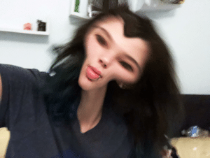 Post selfies so I can horrible distort them: Post selfies so I can horrible distort them