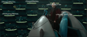 Posting the senate until the Star Wars meme subs form the Reddit Memepire. Day 1: Posting the senate until the Star Wars meme subs form the Reddit Memepire. Day 1