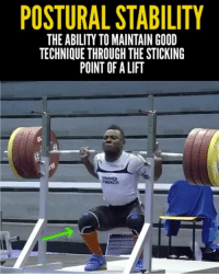 How WELL do you maintain technique when you hit the sticking point of a lift? Here's a great example of WHAT TO DO by 2x Olympian @bernybernardin squatting 220kg-484lbs at 69kg-152lbs bodyweight (Video by @hookgrip) ✅ . One of the take-aways from this lift is how controlling the descent can lead to a stable ascent. The faster you descend, the harder it can be to maintain balance & technique on the way back up ❌This is why dive-bombing into the bottom of a squat often leads to knee collapse & back rounding. Always control the descent ✅ . Remember, it doesn't matter how MUCH you lift, it matters how MUCH you lift WELL! Keep this mindset every time you touch the barbell & good things will happen! 🏋🏽🔥 ___________________________________ Squat University is the ultimate guide to realizing the strength to which the body is capable of. The information within these pages are provided to empower you to become a master of your physical body. Through these teachings you will find what is required in order to rid yourself of pain, decrease risk for injury, and improve your strength and athletic performance. ________________________________ Squat SquatUniversity Powerlifting weightlifting crossfit training wod workout gym exercisescience fit fitfam fitness fitspo oly olympicweightlifting hookgrip nike lift mobility nikeweightlifting: POSTURAL STABILITY  THE ABILITY TO MAINTAIN GOOD  TECHNIQUE THROUGH THESTICKING  POINT OF ALIFT  MER How WELL do you maintain technique when you hit the sticking point of a lift? Here's a great example of WHAT TO DO by 2x Olympian @bernybernardin squatting 220kg-484lbs at 69kg-152lbs bodyweight (Video by @hookgrip) ✅ . One of the take-aways from this lift is how controlling the descent can lead to a stable ascent. The faster you descend, the harder it can be to maintain balance & technique on the way back up ❌This is why dive-bombing into the bottom of a squat often leads to knee collapse & back rounding. Always control the descent ✅ . Remember, it doesn't matter how MUCH you lift, it matters how MUCH you lift WELL! Keep this mindset every time you touch the barbell & good things will happen! 🏋🏽🔥 ___________________________________ Squat University is the ultimate guide to realizing the strength to which the body is capable of. The information within these pages are provided to empower you to become a master of your physical body. Through these teachings you will find what is required in order to rid yourself of pain, decrease risk for injury, and improve your strength and athletic performance. ________________________________ Squat SquatUniversity Powerlifting weightlifting crossfit training wod workout gym exercisescience fit fitfam fitness fitspo oly olympicweightlifting hookgrip nike lift mobility nikeweightlifting