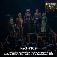 """How would you rate Harry Potter and the Cursed Child out of 10? - harrypotter harrypotterworld harrypotterfandom harrypotterforever harrypotterandthecursedchild jkrowling dumbledore quidditch snape severussnape hogwarts gryffindor slytherin hufflepuff ravenclaw hagrid dobby ronweasley emmawatson danielradcliffe voldemort tomfelton dracomalfoy siriusblack robinwilliams hagrid: Potter  Fact #109  J.K. Rowling has confirmed that the play """"Harry Potter and  the cursed child"""" will be heading to Broadway in Spring 2018! How would you rate Harry Potter and the Cursed Child out of 10? - harrypotter harrypotterworld harrypotterfandom harrypotterforever harrypotterandthecursedchild jkrowling dumbledore quidditch snape severussnape hogwarts gryffindor slytherin hufflepuff ravenclaw hagrid dobby ronweasley emmawatson danielradcliffe voldemort tomfelton dracomalfoy siriusblack robinwilliams hagrid"""