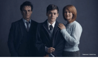 This is the official cast photos of Harry Potter and the Cursed Child, the London stage show. Harry, Ginny & Albus.: Pottermore/Charlie Gray This is the official cast photos of Harry Potter and the Cursed Child, the London stage show. Harry, Ginny & Albus.