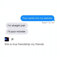 Moster in asshole