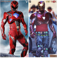 From @dc.marvel.unite - I really love TonyStark's New Avengers : InfinityWar Armor…But I can't be the only one who notices some similarities with The PowerRangers Suits…Just Look at the Hands. 🤔 Anyways, Comment Below who you think has the Cooler Armor or who would win in a Fight…The RedRanger VS IronMan ! 🤷🏽♂️ MarvelCinematicUniverse 💥 MCU HYPE !: POWER RANGERS  SINFNITYWOR  GDC.MARVELLUNITE From @dc.marvel.unite - I really love TonyStark's New Avengers : InfinityWar Armor…But I can't be the only one who notices some similarities with The PowerRangers Suits…Just Look at the Hands. 🤔 Anyways, Comment Below who you think has the Cooler Armor or who would win in a Fight…The RedRanger VS IronMan ! 🤷🏽♂️ MarvelCinematicUniverse 💥 MCU HYPE !