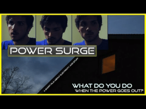 Being Alone, Dumb, and Home Alone: POWER SURGE  WHAT DO YOU DO  WHEN THE POWER GOES OUTP do-whatyou-do: I made this a year ago over Spring break because I didn't go anywhere special and I was home alone. But I just posted it because I'm me. Don't think it actually qualifies as a short film but there is a dumb little story and stuff. So if you want to see what happens when I am left alone for an extended amount of time, this is pretty much it.  Hope this connects with my fellow loners out there. Together we will do stupid stuff alone that no one will ever see, unless we film it.