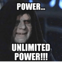 unlimited power: POWER  UNLIMITED  POWER!!!
