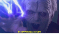 unlimited power: Power!! Unlimited Power!!