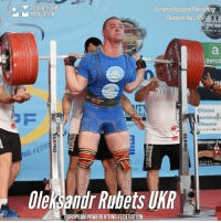 Memes, Record, and World: POWERLIFTING  European Equipped Powerlifting  M MOTIVATION  Championships 207  Clinic  onride  lhagrin  NG FED  Oleksandr RubetslKR  UROPEAN POWERLIFTING FEDERATION Unbelievable: @oleksandrrubets World OPEN Record in Squat with 431 kg by JUNIOR lifter Oleksandr Rubets UKR in 105kg class! via European Powerlifting Federation @theipf @powerliftingmotivation powerliftingmotivation OleksandrRubets