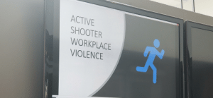 Powerpoint, Today, and Been: PowerPoint Side Show-ACTIVE SHOOTER WORKPLCE VIOLENCE.pp  PowerPoint  ACTIVE  SHOOTER  WORKPLACE  VIOLENCE  Slide 1 of 6 A workplace program designed to teach me what to do if there is an active mass shooter. It's been here before everyday but today it gave me pause and I had to really reflect and think about it.