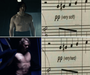 Soft, Shredded, and  Ben: pp (very soft)  .1  Pp (veryhard Shredded Anakin  Ben Swolo