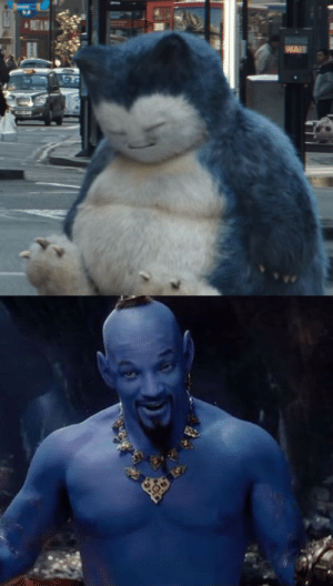Aladdin, Disney, and Pikachu: pr1nceshawn:    The CGI in Detective Pikachu looks so much better than it does in Aladdin, it boggles my mind. Like, how does a Snorlax sleeping on the street in the background look more believable than a classic Disney character played by Will Smith.