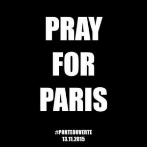 ladysgaladriel:  Hostages, shootings, bomb attacks. At least 100 people were killed at the Bataclan concert hall. Others were killed in attacks near the Stade de France and restaurants. France has declared a national state of emergency and has closed its borders. Stay indoors and stay safe. Our hearts are with you you.  : PRAY  FOR  PARIS  #PORTEOUVERTE  13.11.2015 ladysgaladriel:  Hostages, shootings, bomb attacks. At least 100 people were killed at the Bataclan concert hall. Others were killed in attacks near the Stade de France and restaurants. France has declared a national state of emergency and has closed its borders. Stay indoors and stay safe. Our hearts are with you you.