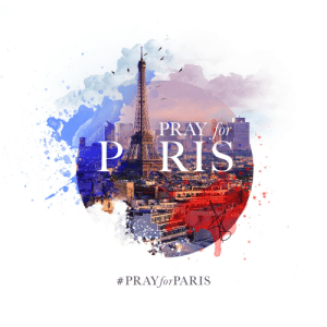 Facebook, Target, and Tumblr: PRAY for  PRIS  graphigeek:Today we stand in unity and solidarity. Shocked and saddened, we mourn together. Let us ‪#‎PrayforParis‬ and ‪#‎Humanity‬–Artwork by the talented Amit Richard from Bangladesh