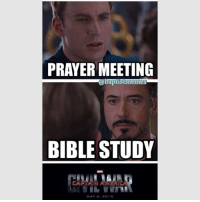 What do you call your midweek service? -@gmx0 BaptistMemes MidweekService PrayerMeeting BibleStudy: PRAYER MEETING  a b  BIBLE STUDY  MAY 6, 2016 What do you call your midweek service? -@gmx0 BaptistMemes MidweekService PrayerMeeting BibleStudy