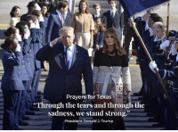 "Http, Texas, and Trump: Prayers for Texas  Through the tears and through the  sadness, we stand strong.""  -President Donald J. Trump We stand strong.   Proclamation Honoring the Victims of the Sutherland Springs, Texas Shooting: http://bit.ly/2h5ZFuK"