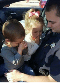 """""""Praying with their daddy before his shift."""" Can this family get an Amen with a lot of Likes & Shares?: """"Praying with their daddy before his shift."""" Can this family get an Amen with a lot of Likes & Shares?"""