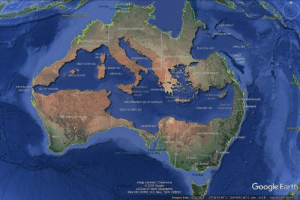 shoutmachine: leningrad-oblast:  mapsontheweb: The Mediterranean Sea perfectly fits inside Australia. Australia do this   if this happened it would drown nearly 5 people : PRCbARWIN  4 20V TRENCM  NORTHERN TEReItORY  CRMEANBANI  oTEST AUSTRALE  CORAL SEA  BLACK SEA GUA  gLE OF  GREAT  ARRIER  yoR TH QUEAN  ALE  DAVENPORT SEA  REEP  GREAT SANDY SEA  GATDESERT  CE 3PRNds  WILSOOWN  CENTRAL dETNSLAND  GSSON SEA  KORN AND1  THE STRATS OF  NNGALOOK  TASAes ROCK  SAY OF YANNAR  TeGA TA Tam ON SEA  ILAND  CARNARVAN  INNAMINCKA  RAND  socTHOUEENSLAND  RAND  MEDITERRANEAN SEA OF ALsTRALIA  COAST OF  BRISBANE  TOOWOOMB  COOLADOI SEA  GREAT IC TORA SEA  ESTERNASTRA  erer coAt  GARDNER BA Y  gw SOUTH WALES  aERTA  SOUTH  AUST  SYONET  ADELADE  Grer AuttasP6  CTORIA  MELBOURNE  Image Landsat / Copemicus  2018 Google  uS Dept of State Geographer  Data SIO NOAA US Navy, NGA GEBCO-  Google Earth  Imagery Date: 12/13/2015  O  273603.99 S 1364645 16 E eley 110 ft  eye at 269799 shoutmachine: leningrad-oblast:  mapsontheweb: The Mediterranean Sea perfectly fits inside Australia. Australia do this   if this happened it would drown nearly 5 people