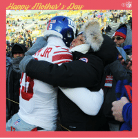 Memes, Nfl, and 🤖: PRECAME VIP  NFL Hug it out, @OBJ_3! #MothersDay https://t.co/49ehbAQLTJ