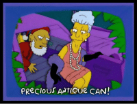 Memes, Precious, and Antiquity: PRecious ANTIQue CAN! Sw-sw-sw-swee-sweet antique can!