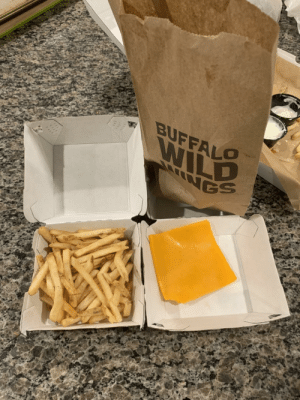 Pregnant wife ordered cheese fries, this isn't going to end well…: Pregnant wife ordered cheese fries, this isn't going to end well…
