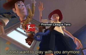 Premier League fans now that the season is resuming. https://t.co/CEXsgCITbK: Premier League fans now that the season is resuming. https://t.co/CEXsgCITbK