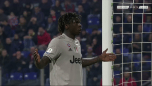 Soccer, Sports, and Best: PREMIER SPORTS  1 LIVE  Jee Juventus wonderkid Moise Kean celebrating in front of the Cagliari fans who racially abused him all game.  One of the best moments of the season. 👏👏 https://t.co/KcQQONvo1f