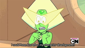 *sobs in Jasper fan* : PREMIERE  CN  IGould have lost all of my character development!  IRETWOE *sobs in Jasper fan*