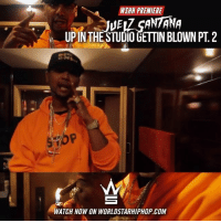 "Freestyling, Memes, and Worldstarhiphop: PREMIERE  NSHH JUEAz SANTANA  UPIN THE STUDIO GETTIN BLOWN PT 2  WATCH NOW ON WORLDSTARHIPHOP.COM WSHH Premiere @TheJuelzSantana ""Up In The Studio Gettin Blown Pt. 2 Freestyle"" LiveNow Exclusive JuelzSantana UpInTheStudioGettinBlownPt2 Freestyle dir- @directorcloudkickapiff"