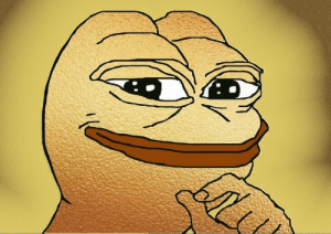 premiumpepes:  this is a golden pepe it appears only once in 20000 memes this is the rarest of the rare pepes reblog in 20 seconds or dank memes will never grace ur dashboard again   I just can't take that risk: premiumpepes:  this is a golden pepe it appears only once in 20000 memes this is the rarest of the rare pepes reblog in 20 seconds or dank memes will never grace ur dashboard again   I just can't take that risk
