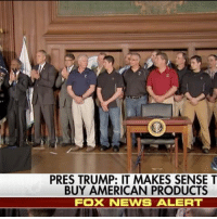 """""""In particular, I want to thank the miners."""" President @realDonaldTrump moved to unravel a host of energy regulations imposed by his predecessor, targeting in particular the Obama administration's signature program that was intended to curb carbon emissions - but also blasted Republicans for hurting the already-struggling coal industry.: PRES TRUMP: IT MAKES SENSE T  BUY AMERICAN PRODUCTS  FOX NEWS ALERT """"In particular, I want to thank the miners."""" President @realDonaldTrump moved to unravel a host of energy regulations imposed by his predecessor, targeting in particular the Obama administration's signature program that was intended to curb carbon emissions - but also blasted Republicans for hurting the already-struggling coal industry."""