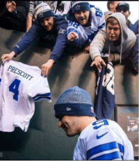 How Cowboys fans treated Romo on his way to retirement just to end up with a guy who can't pass the ball more than 10 yards.: PRESCOTT How Cowboys fans treated Romo on his way to retirement just to end up with a guy who can't pass the ball more than 10 yards.
