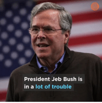 SMH: President Jeb Bush is  in a lot of trouble SMH
