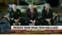 BreakingNews: President DonaldTrump announces that General H. R. McMaster will take over the role of national security adviser after General Michael Flynn resigned. Keith Kellogg will serve as chief of staff for the National Security Council.: PRESIDENT TRUMP SPEAKS FROM MAR-A-LAGO  Fox NEWS ALERT BreakingNews: President DonaldTrump announces that General H. R. McMaster will take over the role of national security adviser after General Michael Flynn resigned. Keith Kellogg will serve as chief of staff for the National Security Council.
