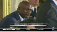 Memes, Wshh, and Hawks: PRESIDENTIAL MEDAL OF FREEDOM CEREMONY  WASHINGTON, D.C.  NBA SCHEDULE  PELICANS HAWKS 730 NBATV  LIVE PresidentObama speaks on MichaelJordan at the Presidential Medal Of Freedom Ceremony today!! 😂🙌💯 @HouseOfHighlights WSHH
