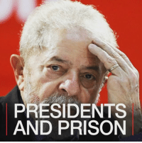 13JUL: Former Brazilian President Luiz Inacio Lula da Silva has been convicted of corruption charges and sentenced to nine and a half years in prison. Find out more: http:-bbc.in-lula LuizinacioLulaDaSilva Brazil Brasil Petrobras BBCShorts BBCNews @BBCNews: PRESIDENTS  AND PRISON 13JUL: Former Brazilian President Luiz Inacio Lula da Silva has been convicted of corruption charges and sentenced to nine and a half years in prison. Find out more: http:-bbc.in-lula LuizinacioLulaDaSilva Brazil Brasil Petrobras BBCShorts BBCNews @BBCNews