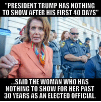 """Crazy, Memes, and Shut Up: """"PRESIDENTTRUMP HAS NOTHING  TO SHOW AFTER HIS FIRST 40 DAYS""""  SAID THE WOMAN WHO HAS  NOTHING TO SHOW FOR HER PAST  30 YEARS AS AN ELECTED OFFICIAL. Just shut up you crazy cat lady.  Visit our Store 👉🏽 https://goo.gl/zS6WxN Use code CDHLIFE10 for 10% off Support 2nd Amendment Advocacy Use code CDHLIFE10 for 10% off SHARE & FOLLOW US"""