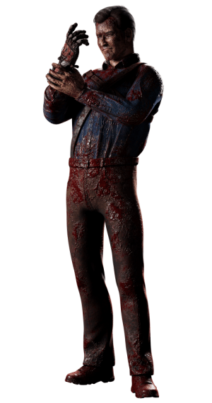 Ash, Prestige, and Williams: Prestige 3 Ash Williams Render