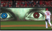 Pretty cool use of a screen #NLDS https://t.co/7XEqARdbyR: Pretty cool use of a screen #NLDS https://t.co/7XEqARdbyR