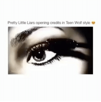 pretty little liars opening credits