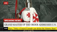 "pretty  pan euro memes  LIVE  BREAKING NEWS  GRAND MASTER OF THE ORDER ADDRESSES U.N  Says, ""Only a United Crusade can defeat the Islamic State""  18:38 Meanwhile in an alternative universe"