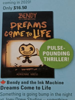 Pretty sure the scenario of the horror game is the furthest thing from a dream come true. Also they made a book about it: Pretty sure the scenario of the horror game is the furthest thing from a dream come true. Also they made a book about it