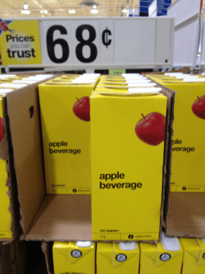 raccoon-butts:  wow i sure am thirsty for some apple beverage oh boy : Prices  you can  trust  apple  beverage  ple  verage  apple  beverage  no name  0  no name  1 L raccoon-butts:  wow i sure am thirsty for some apple beverage oh boy