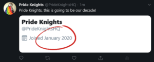 prideknights:We now have a Twitter account. Join the Pride Knights HQ here!: prideknights:We now have a Twitter account. Join the Pride Knights HQ here!