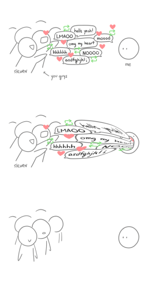 primarybufferpanel: sylvrndoodles: this is really how i feel sometimes Fic in my case, but yeah : primarybufferpanel: sylvrndoodles: this is really how i feel sometimes Fic in my case, but yeah