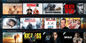 Amazon, Ass, and Bodies : prime Recommended movies  Based on titles you have watched and more  DADDY'S  HOME  OREVER MY GIRL  KOEATH  CHIS  TRANSFORMRS  THE LA ST KNIGH T  prime Popular movies See more  HOT TUB  TIME MACHINE  AMERICAN  RENECADES  I CAN  IMA  JOHN WAYNE  HONDO  prime Top-rated movies See more  KIEK ASS  !CAN ONLY  IMAGINE  OUT CF  TIME  SHOTCALLER  prime  prime  prime  prime  prime  prime  prime  vprime  vprime  prime  prime  prime  prime  prime  vprime This banner for a movie on Amazon looks like they poorly photoshopped the actors' faces on the bodies.