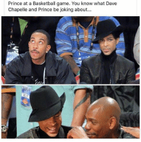 Shoot the j, SHOOT IT! 😂😭😭😂 DaveChapelle Prince BeLike ComePartyOnaRealPage🎈: Prince at a Basketball game. You know what Dave  Chapelle and Prince be joking about... Shoot the j, SHOOT IT! 😂😭😭😂 DaveChapelle Prince BeLike ComePartyOnaRealPage🎈