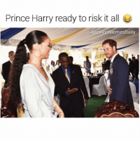 The prince likes his melanin 😏 princeharry is the game changer Rihanna he wants that cake cake cake galdembanter dt @itsshenell: Prince Harry ready to risk it all  @HipHop MemesDaily The prince likes his melanin 😏 princeharry is the game changer Rihanna he wants that cake cake cake galdembanter dt @itsshenell