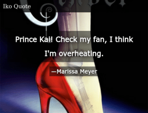 SIZZLE: Prince Kai! Check my fan, I think I'm overheating.