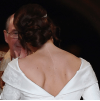 "Princess Eugenie said she chose a wedding dress that showed her scar from back surgery to inspire others. Tap the link in our bio to find out more about the choice by the Queen's granddaughter, who had treatment for curvature of a spine at the age of 12. Ahead of her wedding, she spoke of the importance of showing ""people your scars"". PHOTO: PA- Toby Melville RoyalWedding royalfamily uk windsorcastle inspire bbcnews: Princess Eugenie said she chose a wedding dress that showed her scar from back surgery to inspire others. Tap the link in our bio to find out more about the choice by the Queen's granddaughter, who had treatment for curvature of a spine at the age of 12. Ahead of her wedding, she spoke of the importance of showing ""people your scars"". PHOTO: PA- Toby Melville RoyalWedding royalfamily uk windsorcastle inspire bbcnews"